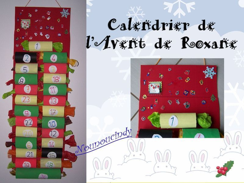 calendrier de l 39 avent avec rouleaux de papier wc. Black Bedroom Furniture Sets. Home Design Ideas
