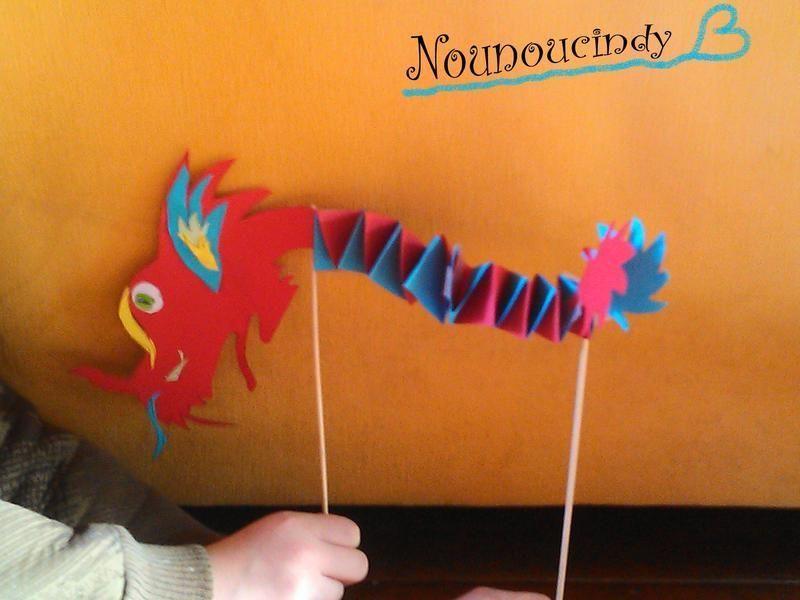 activite manuelle dragon